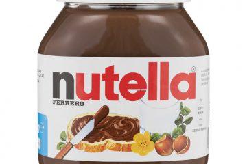 geschiedenis van beroemde gerechten - nutella