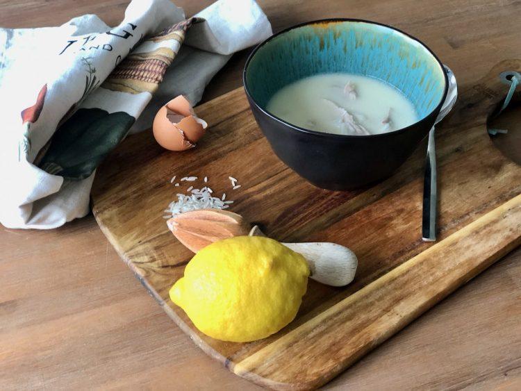 soepa avgolemono