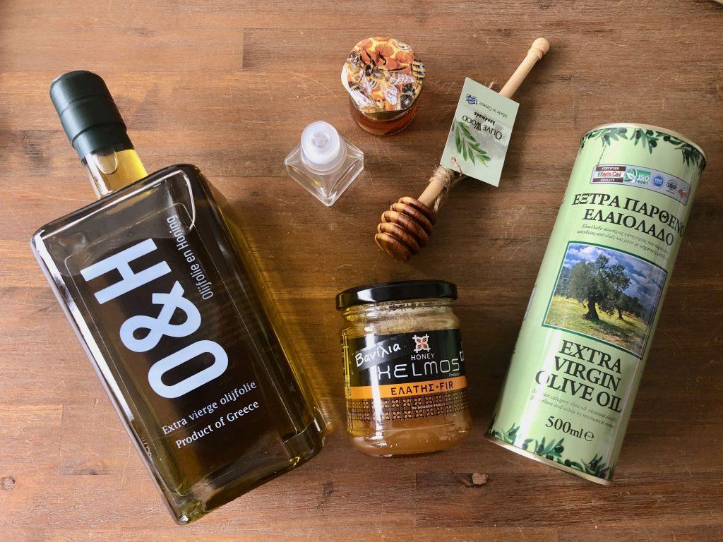 Olijfolie & Honing