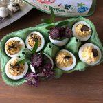 Gevulde eieren 2.0 - met truffel en Aziatische twist!