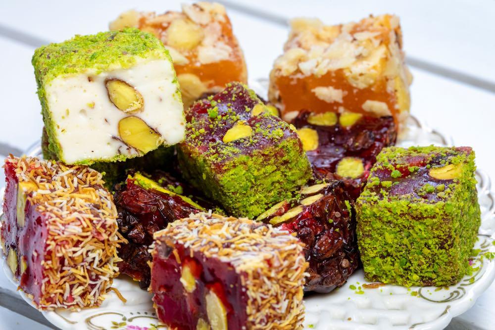 Geschiedenis van beroemde gerechten: Turks Fruit