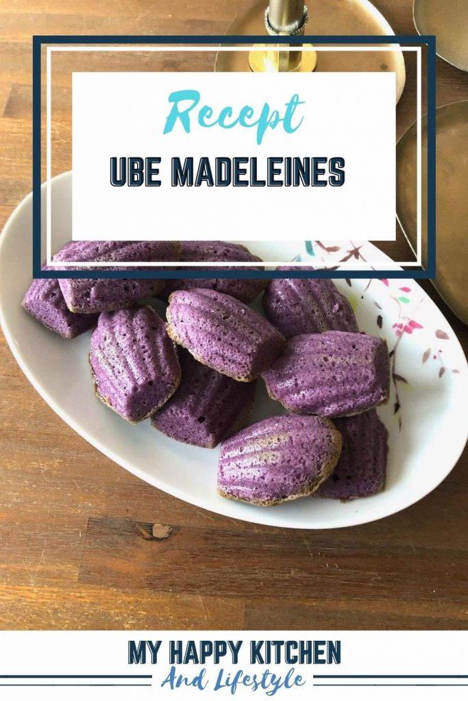 Ube madeleines