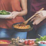 Koken op een studentenkamer