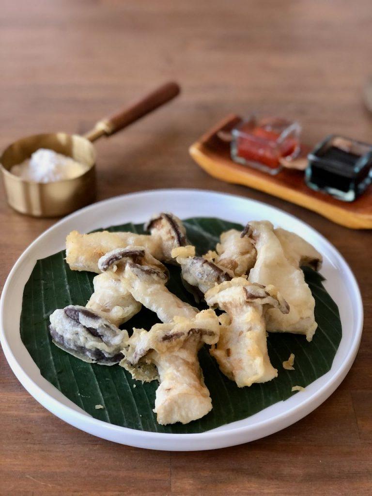 tempura van oesterzwam
