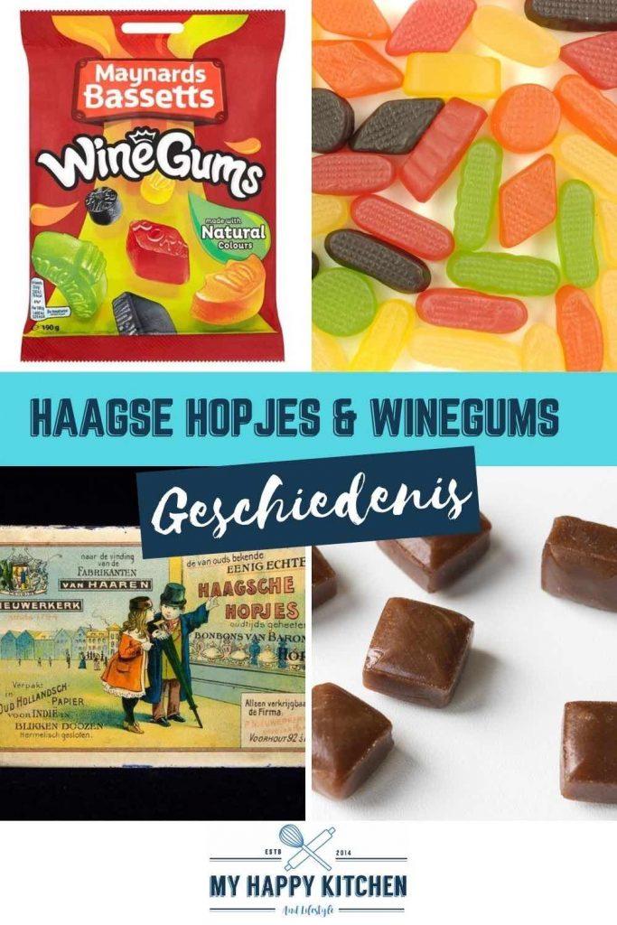 Geschiedenis van Haagse Hopjes en winegums