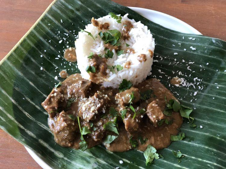 Maleisische pulled beef