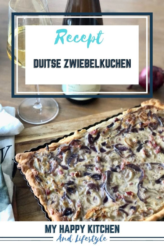Duitse Zwiebelkuchen