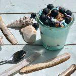 Mermaid yoghurt - een zomers ontbijt!