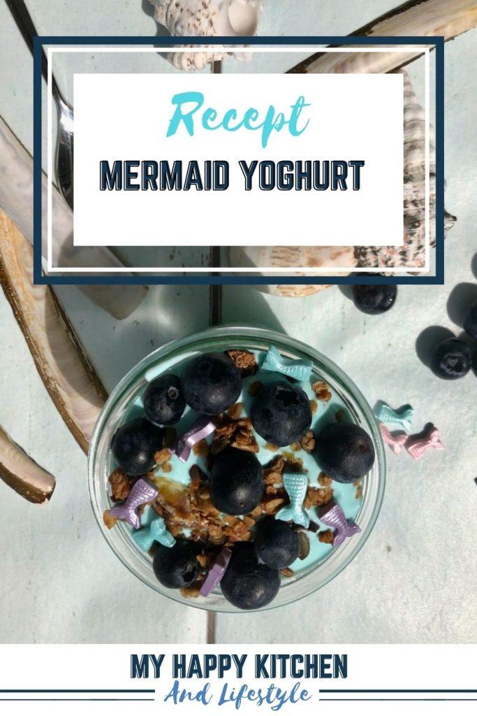 Mermaid yoghurt