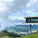 Lunch with a view in restaurant Alpinn