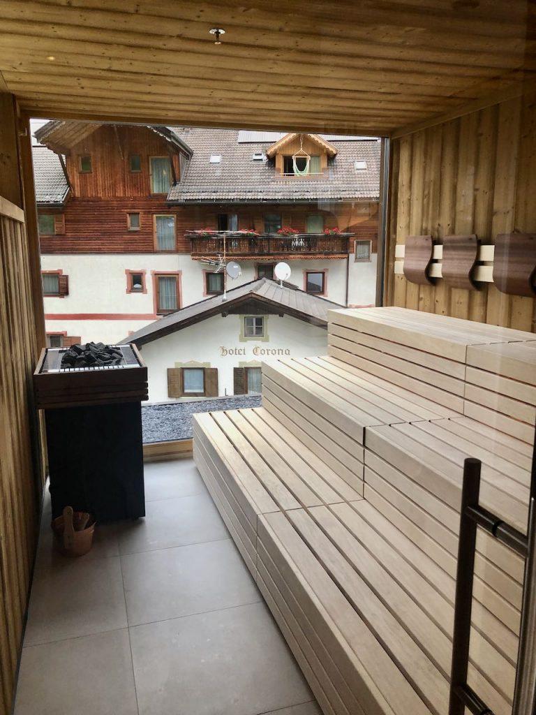 Panorama sauna hotel Stoa