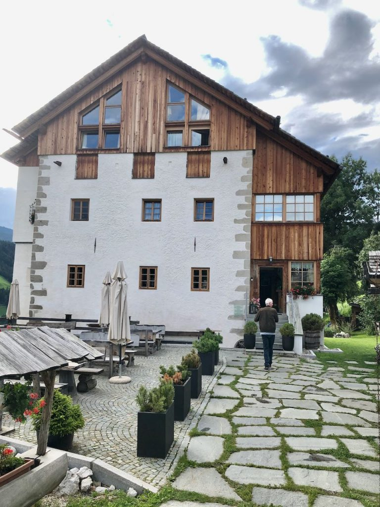 osteria ciastel, San Vigilio (Zuid-Tirol)