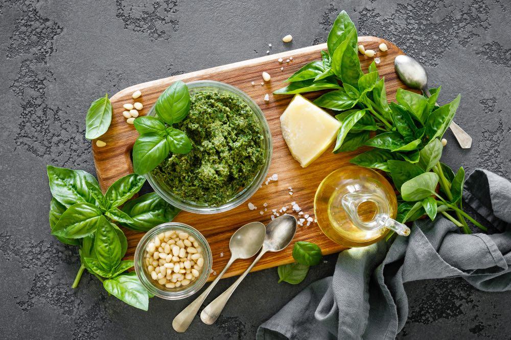 geschiedenis van beroemde gerechten: pesto