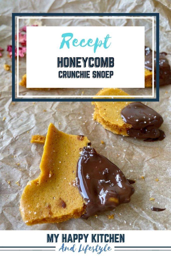 Honeycomb crunchie snoep
