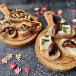 Herfst bruschetta - met paddenstoelen en vijgen