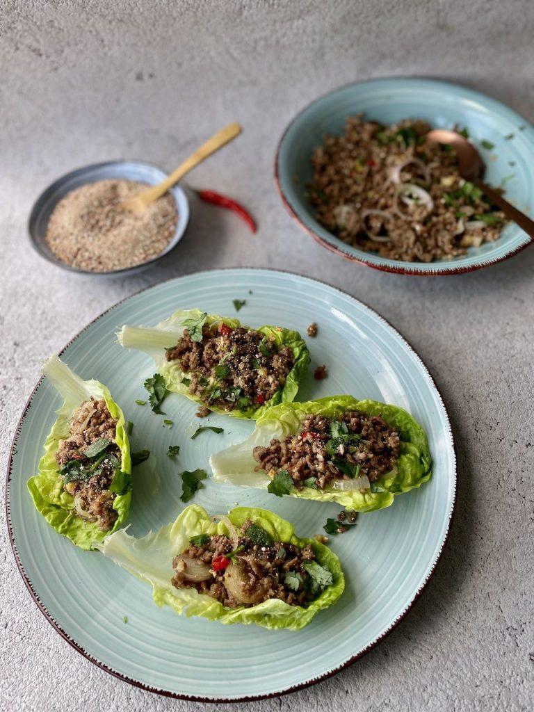 larb, laap of laab salade